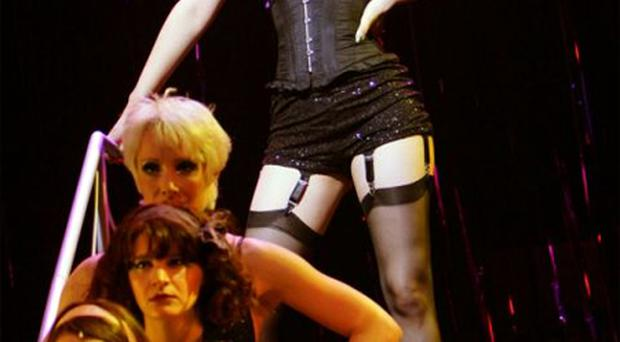 Samantha Barks stars as Sally Bowles in Cabaret at the Grand Opera House