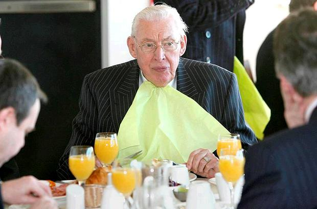 Full up: Former first minister Ian Paisley claimed almost £19,000 in four years
