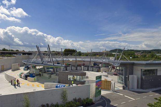 The new waste facilities in the Balloo area of Bangor cost North Down Borough Council £18 million