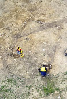 Bronze Age burial ground uncovered in Co Down