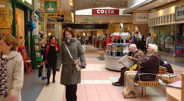 Shopping centres close to the border may see a fall in sales