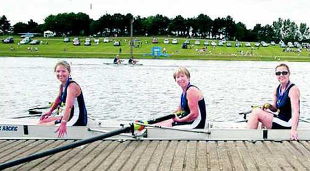 Some of the Boat Club rowers