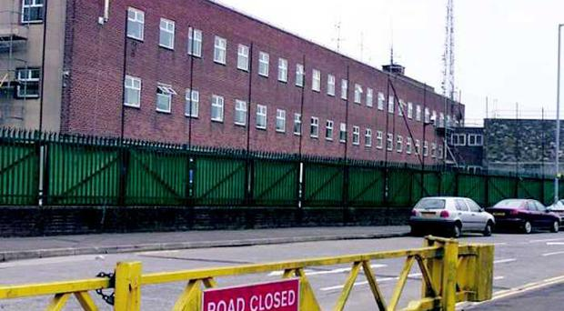 Castlereagh Police station was raided in 2002.