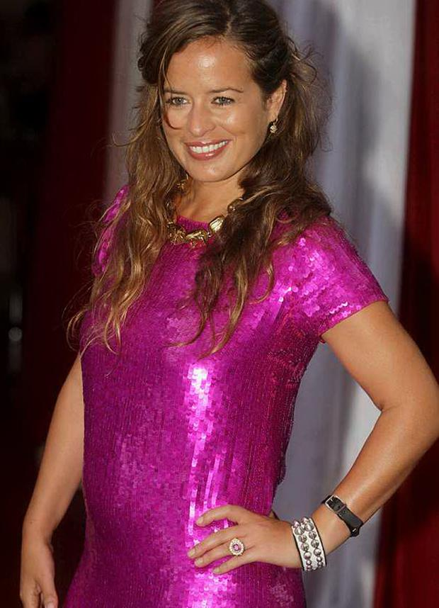 Jade Jagger at the launch of the new Smirnoff Mule drink in Belfast's Oh Yeah centre last night