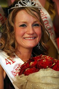 The 2008 Mary of Dungloe, Una Rooney from Lurgan