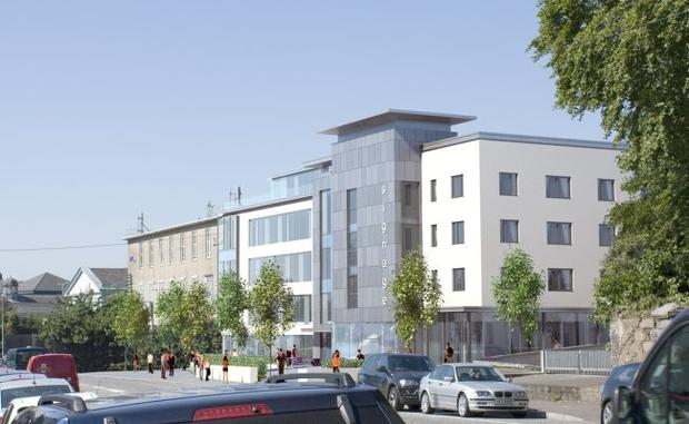 Artist impression of the new hotel development in Newry