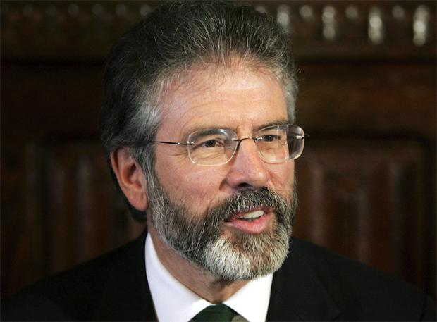 Sinn Fein's Gerry Adams is the longest-standing party leader in Northern Ireland