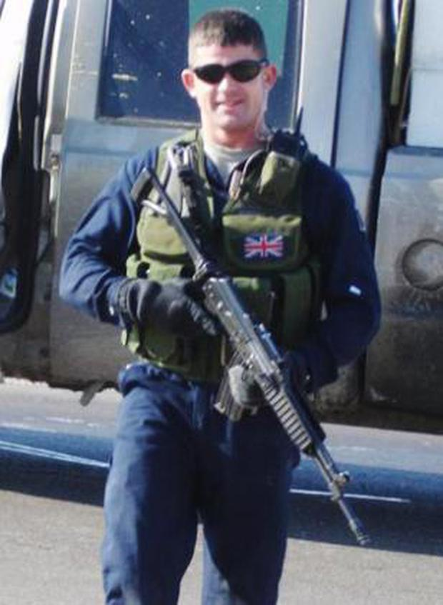 Security worker Danny Fitzsimmons has been accused of murder in Iraq