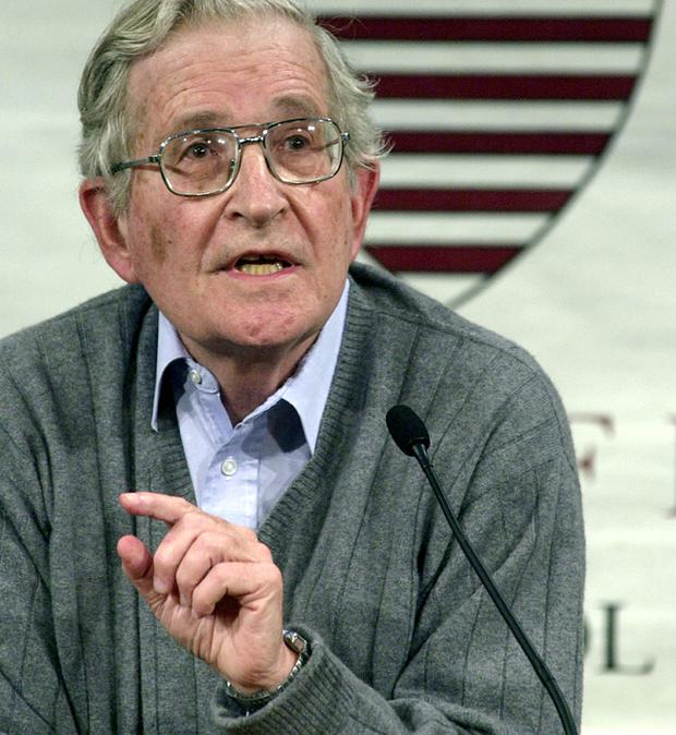 Noam Chomsky, described by The New York Times as 'the most important intellectual alive', he is one of the world's most most-cited sources in academic journals