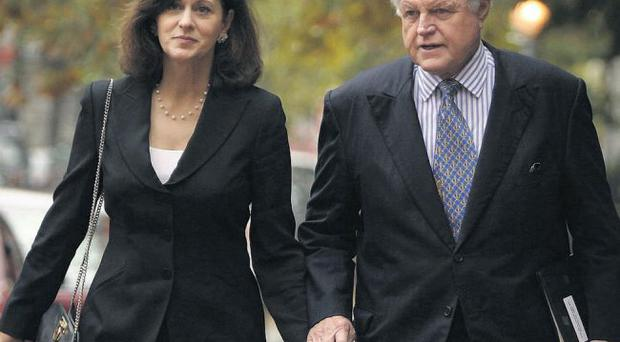 Close: Ted Kennedy and wife Victoria