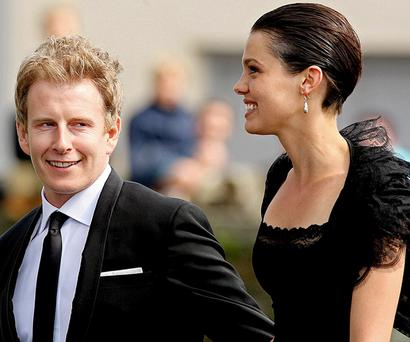 Patrick Kielty and international model Alizee Gaillard