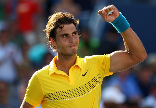 Rafael Nadal showed no signs of his recent injury lay-off with a straight sets win