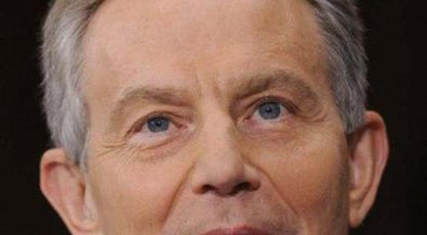 Tony Blair says there is improved interaction with Palestinians