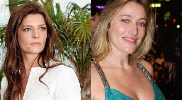 Chiara Mastroianni, left, and Valeria Bruni-Tadeschi, right, have had rave reviews of their performances in new films
