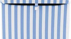 <b>Aspace - Best Budget Buy</b><br/> Fed up of toys cluttering up the floor? Create a fresh look to your child's bedroom with this funky fabric-covered toy box. Available in two designs - flowers and blue and white stripes.<br/> <b>Price</b>: £76 until the end of August - aspace.co.uk; 0845 872 2400