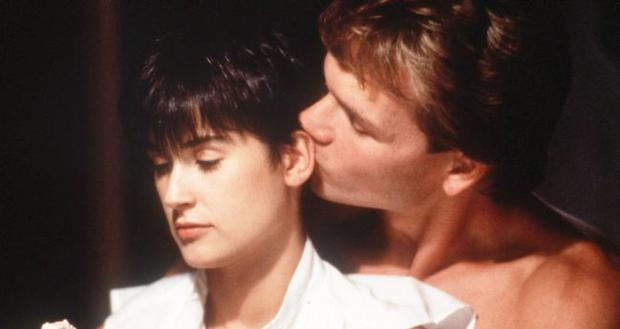 Swayze and Moore in Ghost