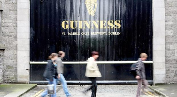 Guinness owner Diageo's shares have jumped amid a possible takeover bid