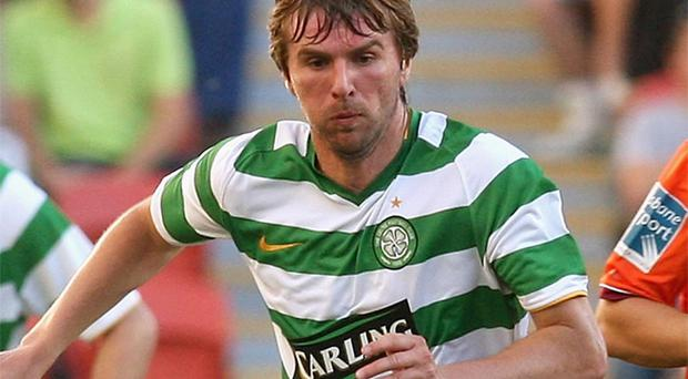 Celtic's Paddy McCourt