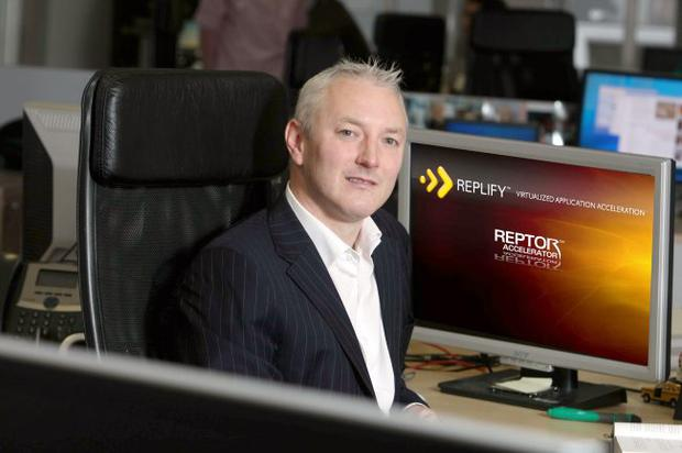 Kevin Donaghy, chief executive of Replify, started the company only two years ago but is already partnering organisations such as HP and Dell