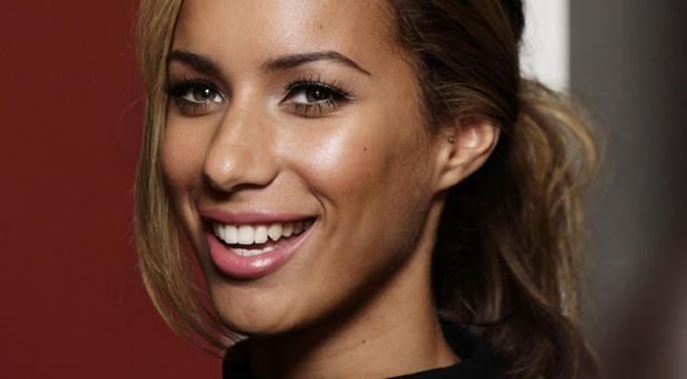 Leona Lewis during a signing session