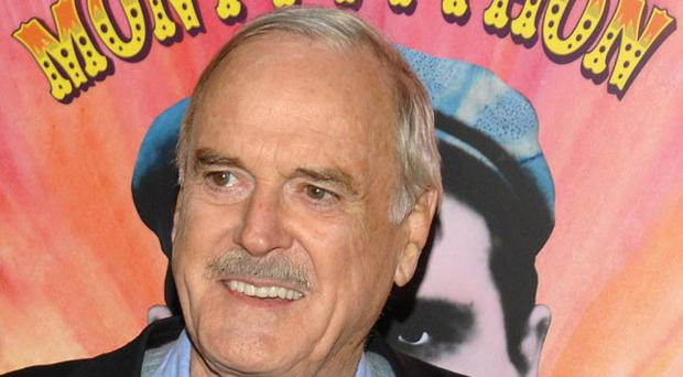 Actor John Cleese attends the IFC and BAFTA premiere of
