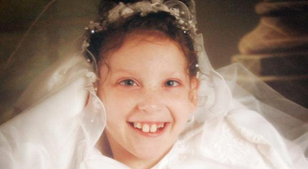 Orla O'Kane, 14, from Derry who died on Sunday 11th October.
