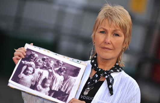 Margaret McGuckin and the photograph that reminds her of the terrible years at Nazareth House