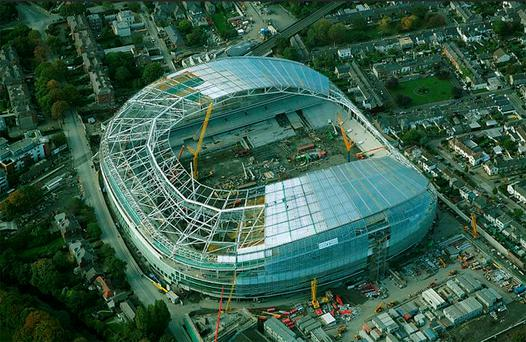 Ulster will play their part in helping to raise the curtain at the new Lansdowne Road