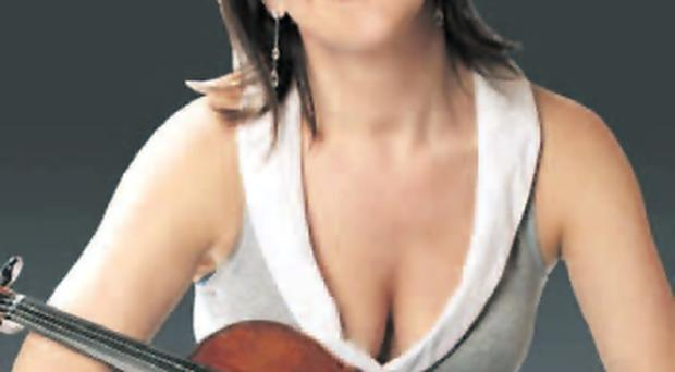 Violinist Tasmin Little plays with the Ulster Orchestra tonight