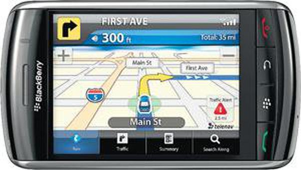 <b>TeleNav for Blackberry </b><br/> TeleNav has been available on multiple Blackberry handsets for some time and is a slick sat nav system with millions of business listings including hotels, restaurants, Wi-Fi hot spots and petrol stations while its map updates are free and automatic.<br/> <b>Price</b>: from £4.99/month; <br/> Telenavshop.eu
