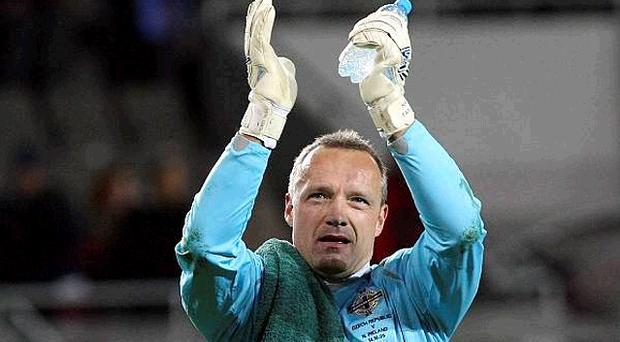 <b>Maik Taylor - 8</b><br /> A man of the match contender after producing stunning saves to foil Zdravko Kuzmanovic and Zoran Tosic. Like a fine wine, he's getting better with age. Another European Championship campaign awaits