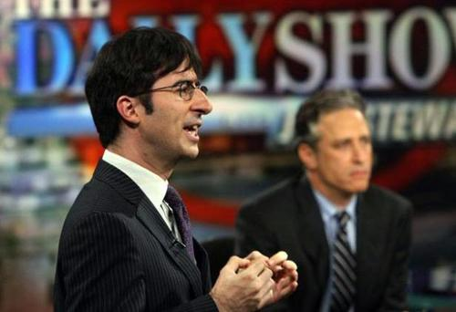 John Oliver, as 'Senior British Correspondent' on The Daily Show with Jon Stewart