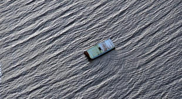 PACEMAKER BELFAST 25/11/09Sever flooding in Co Fermanagh from the air. Farm land and out buildings were worst affected in this area.Photo Colm Lenaghan/Pacemaker