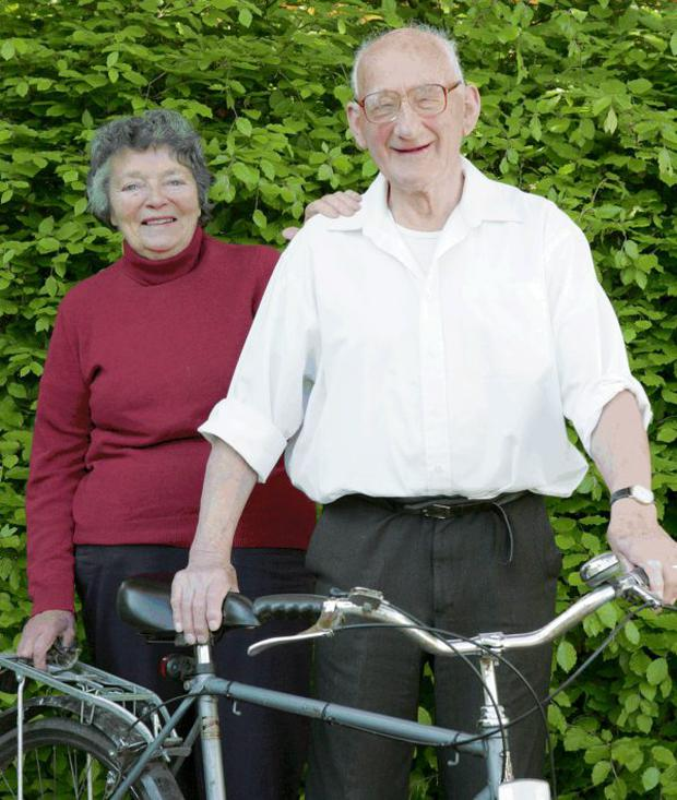 Bill Barbour with his wife Ann