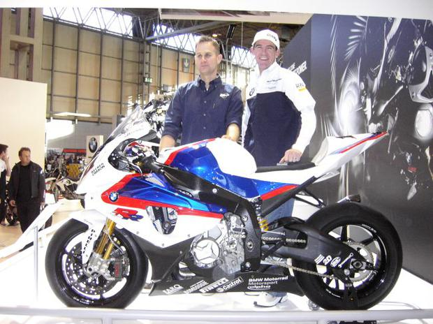 Ex racer Jamie Whitham asks BMW works rider Troy Corser what he thinks of the new S1000RR