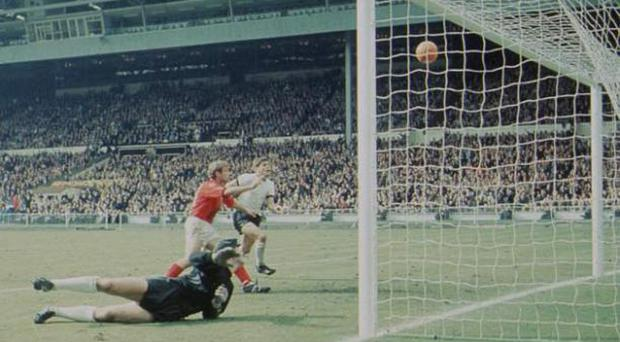 <b>An early example of the need for goal-line technology</b> The result of the 1966 World Cup final could have been oh-so different had a Russian linesman made a different decision. With the game in extra-time, England made the score 3-2 thanks to a 'goal' from Geoff Hurst. The shot cracked off the underside of the bar and bounced down onto the line. Even now it remains inconclusive whether the ball was in or not