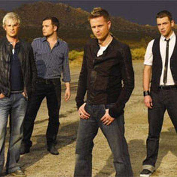 Westlife: Heading back to Belfast