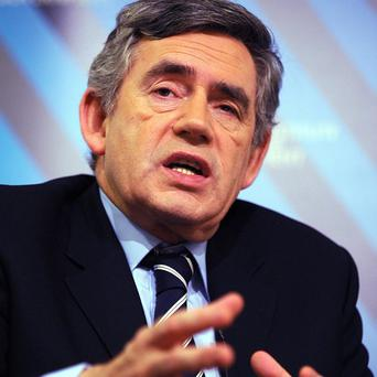 Gordon Brown has announced cuts in Government spending