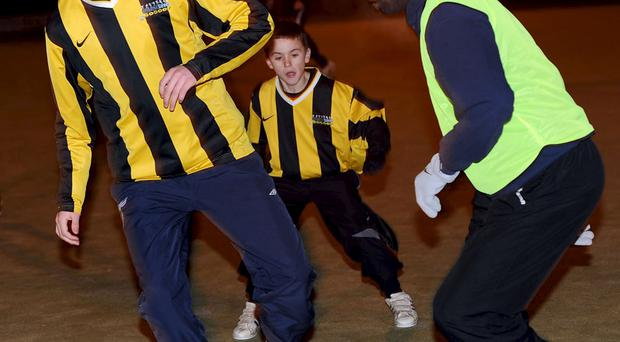 The Midnight Street Soccer league has proved a hit in Castlereagh