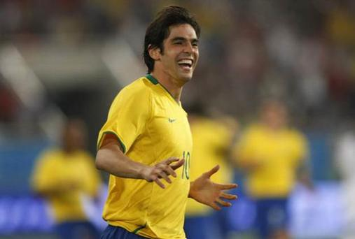 Kaka and Brazil could stand in the way of England in the semi-finals