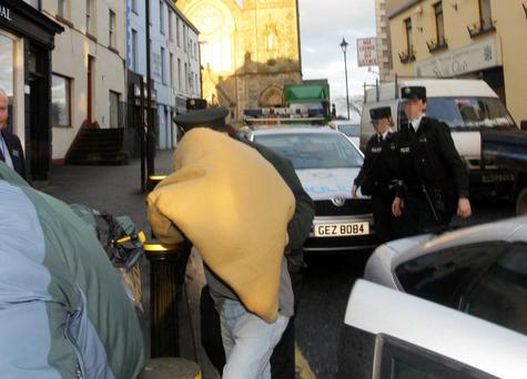 30-year-old man charged with the murder of 15-month-old Millie Martin appears at Omagh Court.