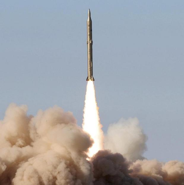 Iran says it has test-fired an upgraded missile