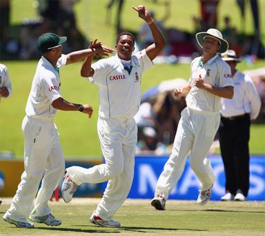 South African great Makhaya Ntini was trusted with the final over by captain Graeme Smith to claim England's last wicket and win the match but he failed to deliver