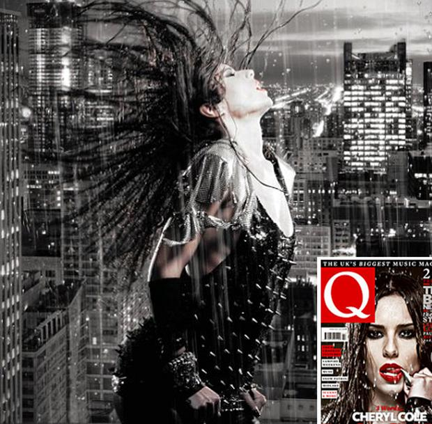 Cheryl rocks: full interview is in the new issue of Q magazine which is out now