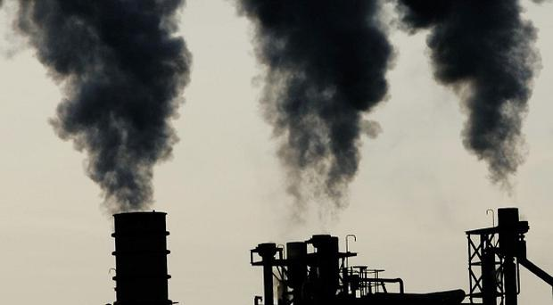 Scientists are carrying out tests to find out how urban landscapes cope with emissions