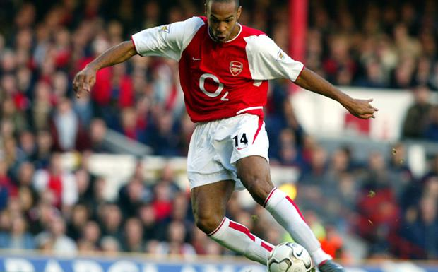 1. Thierry Henry. Arrived at Highbury from Juventus for £10.9 million in August 1999. Brought in as a replacement for Nicolas Anelka, Wenger transformed the tall Frenchman from a meandering winger into one of the Premier League's most feared forwards.