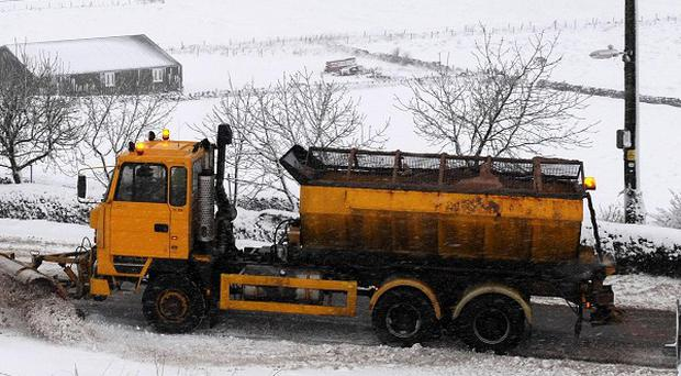 Demand for grit rockets as the cold snap continues