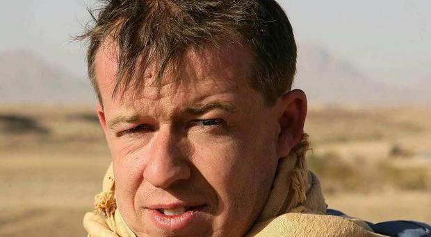 Sunday Mirror defence correspondent Rupert Hamer, who was killed in an explosion in Afghanistan