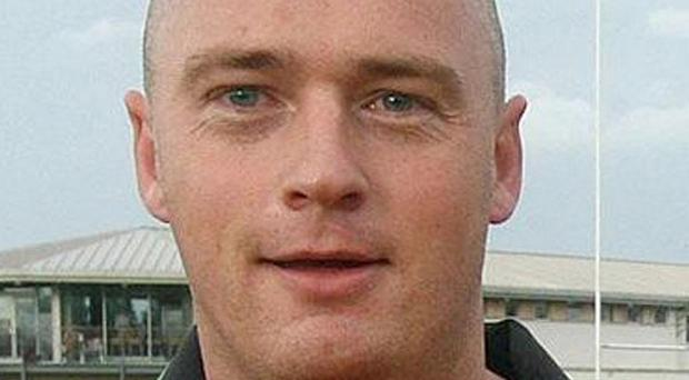 Policeman Peadar Heffron survived a bomb attack but had to have his right leg amputated