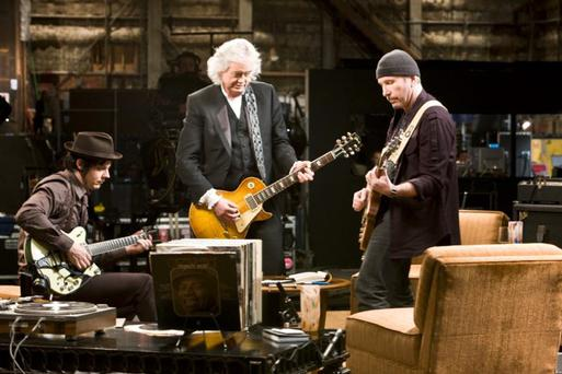 Jack White, Jimmy Page, The Edge